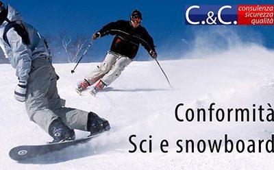 Conformità sci e snowboard