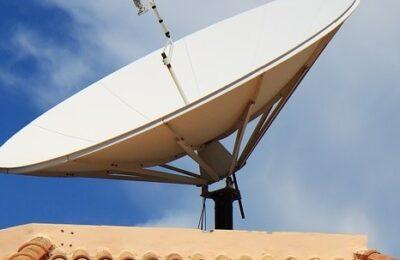 antenna tv e parabola insieme
