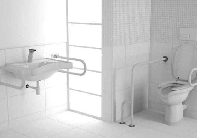 bagno per disabile