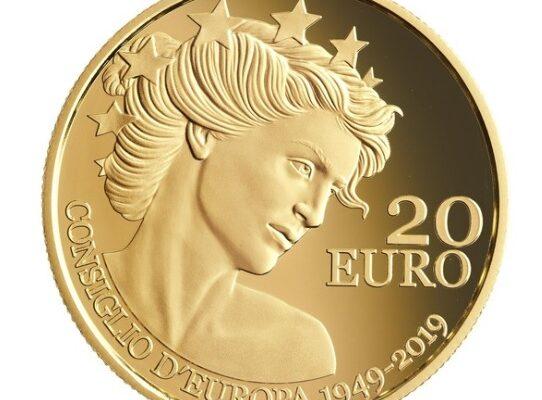 moneta oro celebrativa